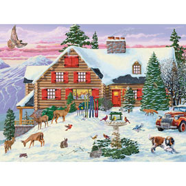 Season's Gathering 1000 Piece Jigsaw Puzzle
