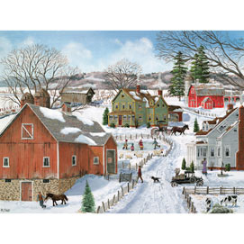 Life on the Farm 500 Piece Jigsaw Puzzle