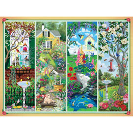Garden Treasures 500 Piece Jigsaw Puzzle