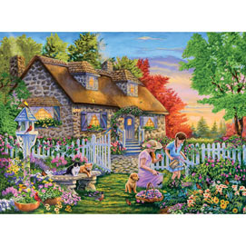 The New Gardener 1000 Piece Jigsaw Puzzle