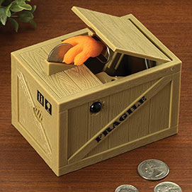 The Snatching Coin Bank