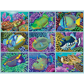 Reef Dwellers 300 Large Piece Jigsaw Puzzle