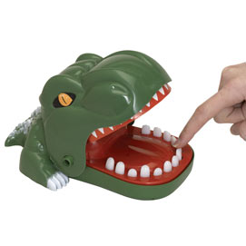 Snappy T-Rex Dinosaur Game