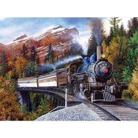 Autumn Express 500 Piece Jigsaw Puzzle