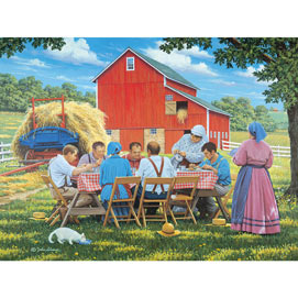 From The Fields 300 Large Piece Jigsaw Puzzle
