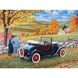 Sunday Drive 500 Piece Jigsaw Puzzle