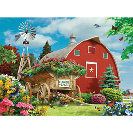 Flower Sale 1000 Piece Jigsaw Puzzle