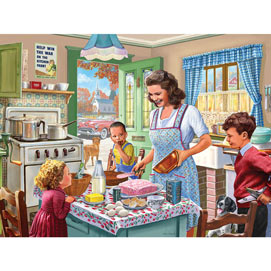 Kitchen Memories 300 Large Piece Jigsaw Puzzle