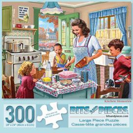 Kitchen Memories 300 Large Piece Jigsaw Puzzle