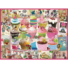 Cupcake Quilt 300 Large Piece Jigsaw Puzzle