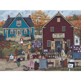A Country Sale 300 Large Piece Jigsaw Puzzle