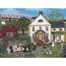 The Farmer's Daughter's Wedding 300 Large Piece Jigsaw Puzzle