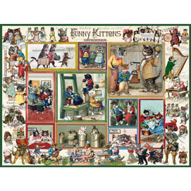 Funny Kittens 500 Piece Jigsaw Puzzle