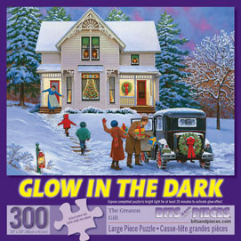 The Greatest Gift 300 Large Piece Glow-In-The-Dark Jigsaw Puzzle
