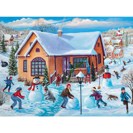 December Memories 500 Piece Jigsaw Puzzle