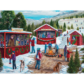 Christmas Fair 500 Piece Jigsaw Puzzle