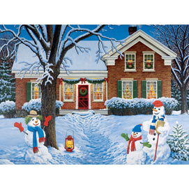 The Greeters 300 Large Piece Jigsaw Puzzle