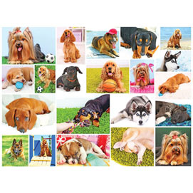 Dogs 300 Large Piece Jigsaw Puzzle
