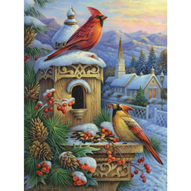 Waiting For The Evening Feast 300 Large Piece Jigsaw Puzzle