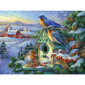 Golden Morning 500 Piece Jigsaw Puzzle