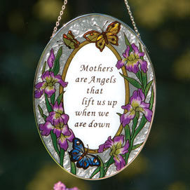 Mothers Are Angels Suncatcher