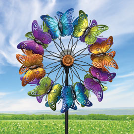 Butterflies LED Wind Spinner
