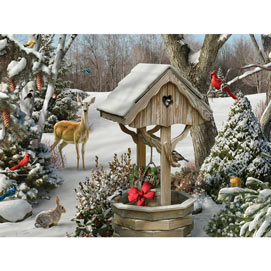 Winter Wishes II 500 Piece Jigsaw Puzzle