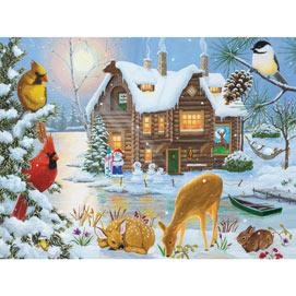 Winter Retreat 1000 Piece Jigsaw Puzzle