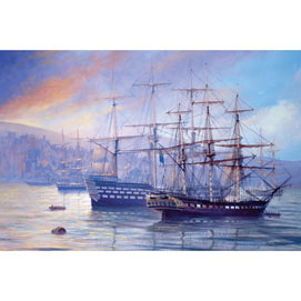 Frigate and First Rate 2000 Piece Giant Jigsaw Puzzle