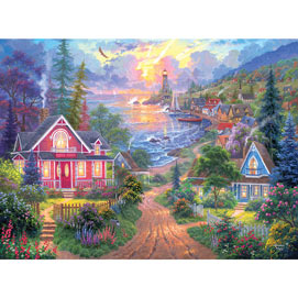 Coastal Living 300 Large Piece Jigsaw Puzzle