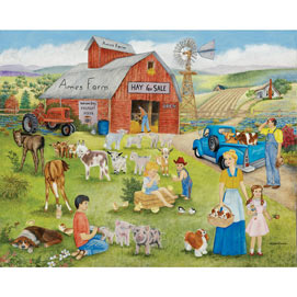 Ames Farm 500 Piece Jigsaw Puzzle