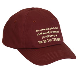 You're The Teacher Cap