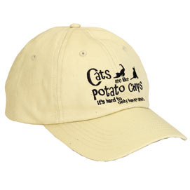 Cats Are Like Potato Chips Cap