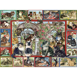 Lots Of Cats 500 Piece Jigsaw Puzzle