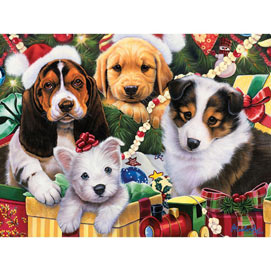 Puppy Surprise 1000 Piece Jigsaw Puzzle