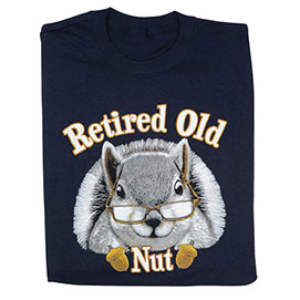 Retired Old Nut Tee