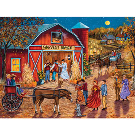 Mark's Harvest Jamboree 300 Large Piece Jigsaw Puzzle