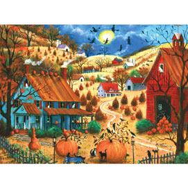 The Great Pumpkin Contest Visit 300 Large Piece Jigsaw Puzzle