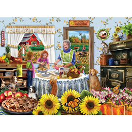 Granny Apple Pie 300 Large Piece Jigsaw Puzzle