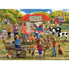 Farm Fresh 1000 Piece Jigsaw Puzzle