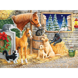 An Evening With Friends 300 Large Piece Jigsaw Puzzle