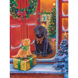 Christmas Surprise 300 Large Piece Jigsaw Puzzle