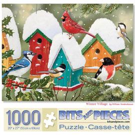 Winter Village 1000 Piece Jigsaw Puzzle
