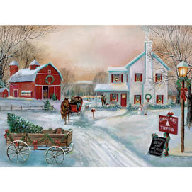 Old Fashioned Sleigh Ride 300 Large Piece Jigsaw Puzzle