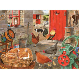 Asleep On The Job 500 Piece Jigsaw Puzzle