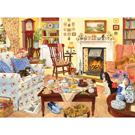 Afternoon Tea 500 Piece Jigsaw Puzzle