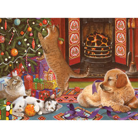 Christmas Helpers 1000 Piece Jigsaw Puzzle