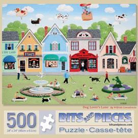 Dog Lover's Lane 500 Piece Jigsaw Puzzle