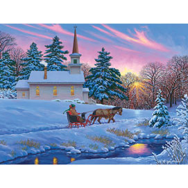 Guiding Light 500 Piece Jigsaw Puzzle