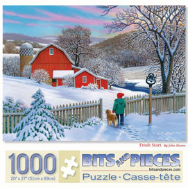 Fresh Start 1000 Piece Jigsaw Puzzle